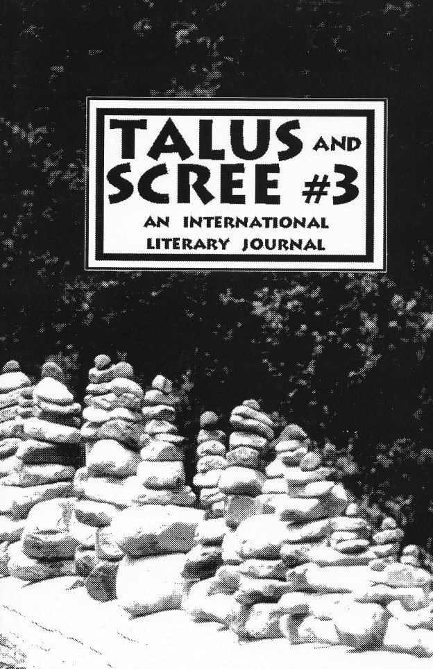 Cover: Perry, Talus & Scree #3
