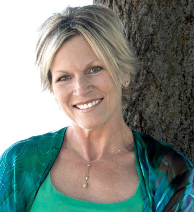 "Theresa Mathews, author of ""Fishing With Hyenas"""