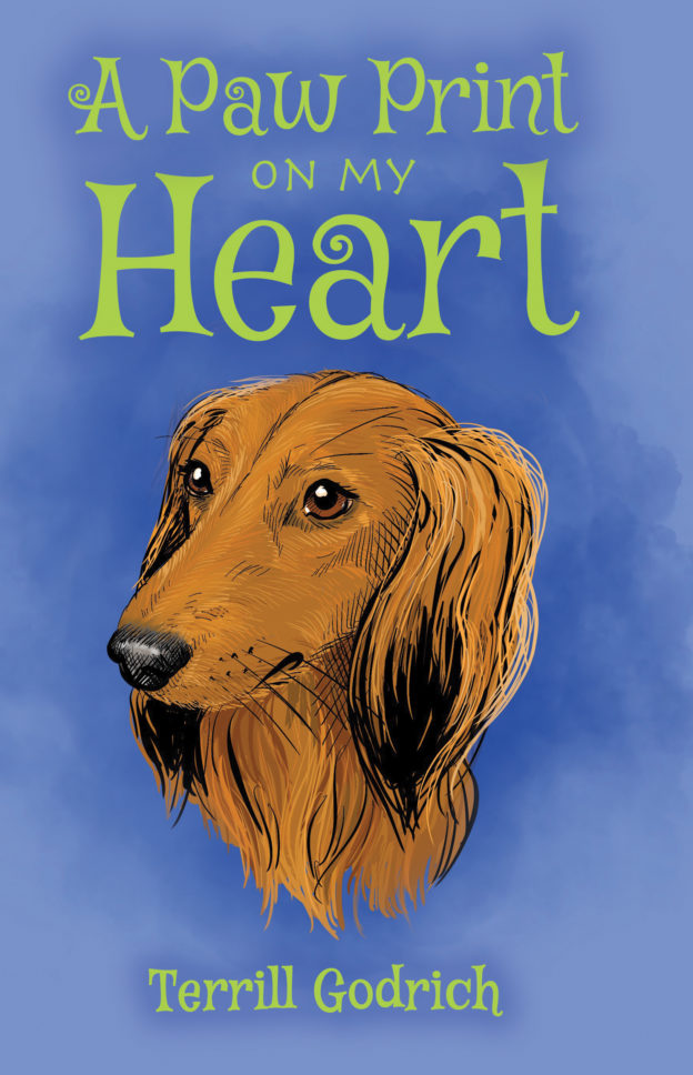"""A Paw Print On My Heart"" by Terrill Godrich, published by Dancing Moon Press"